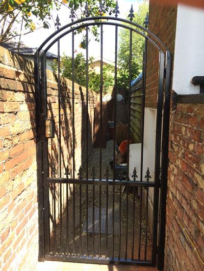 Decorative Arched Bar Security Gate Garden Gates Securifix