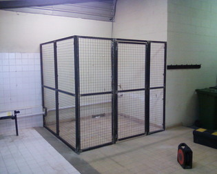 Building Security Cage System
