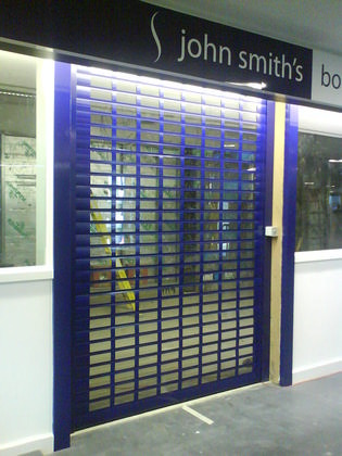 SFX8000 Electrically Operated Roller Shutter