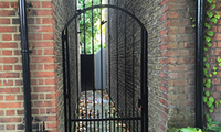 Arched Bar Side Garden Gate