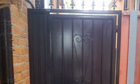 Decorative Sheeted Garden Gate / Alleyway Gate