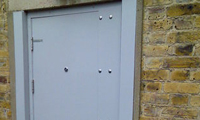 Reinforced Steel Door