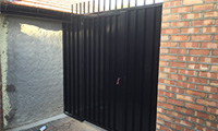 Sheeted Garden Gate & Side Panel