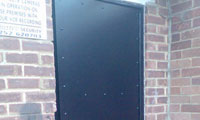 Steel Security Fire Exit Door