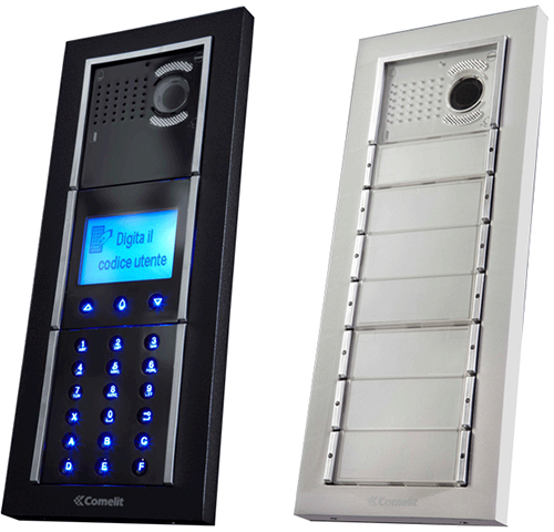 Apartment Door Entry Panels and Intercoms