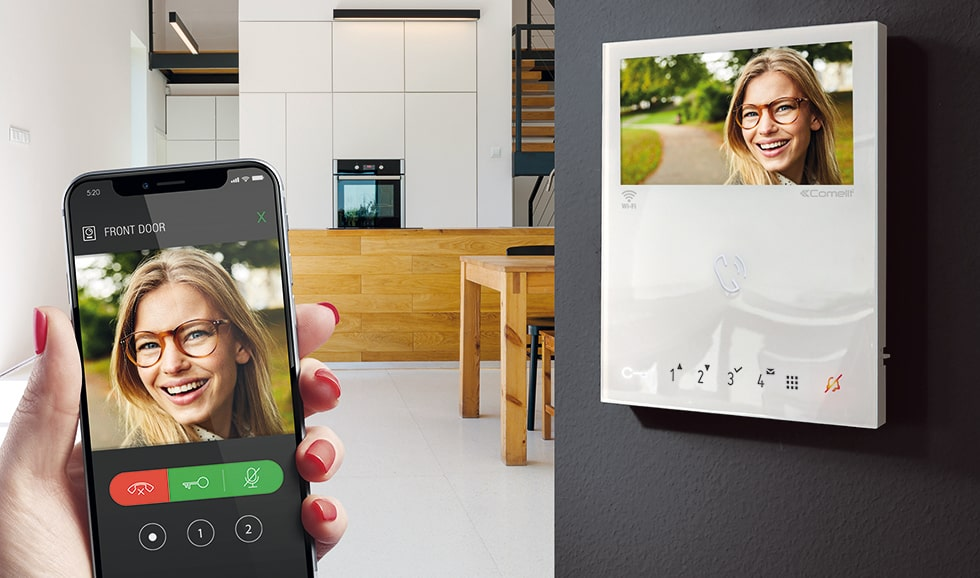 Door Entry Intercom App for the Elderly - Mobile and Wall Unit