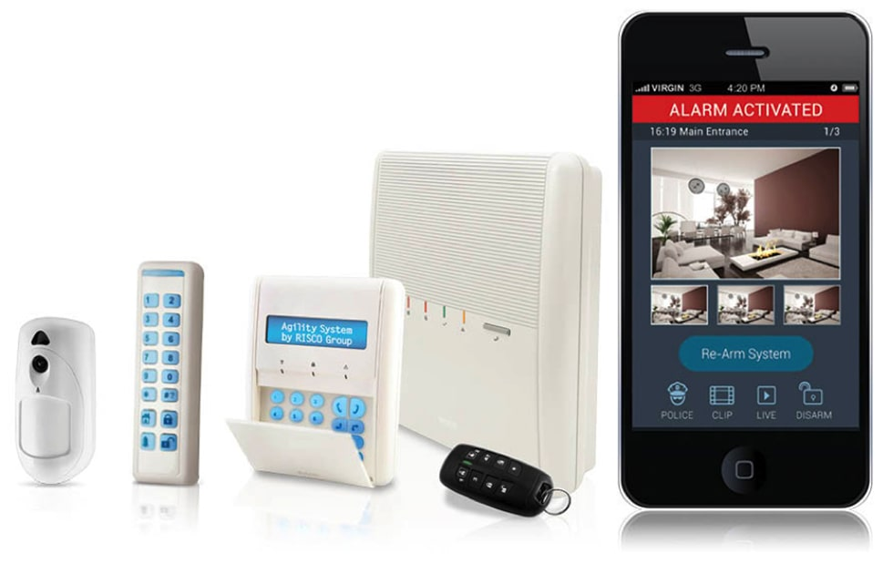 wireless alarm systems fitted by Securifix in London, Berkshire, Surrey and Hampshire