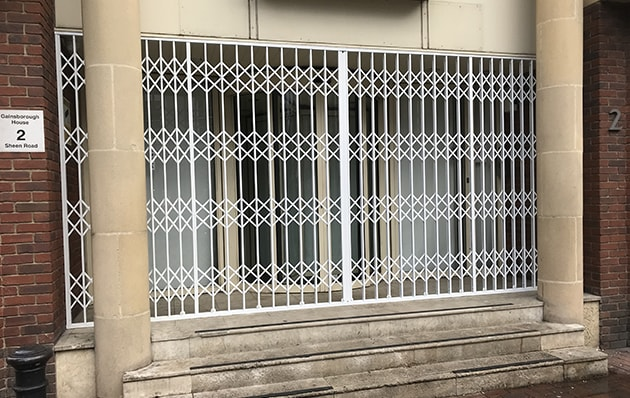 External Security Gate for Shops