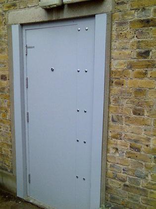 Reinforced Steel Door Security Doors Securifix