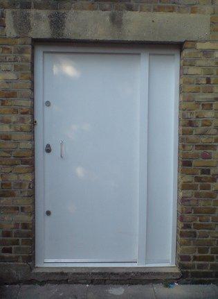 Solid Core Wooden Security Door - Security Doors • Securifix