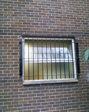 External Stand Off Bar Security Grille