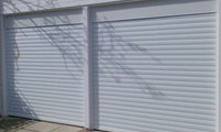 Double Garage Roller Door