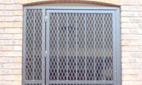 External Diamond Mesh Bar Security Gate