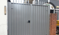 Privacy Protected Driveway Gate